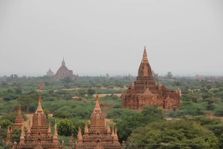 bagan temple and pagodas