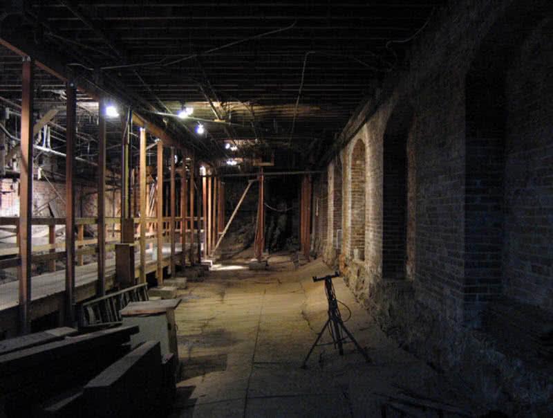 منطقه زیرزمینی سیاتل در واشنگتن
