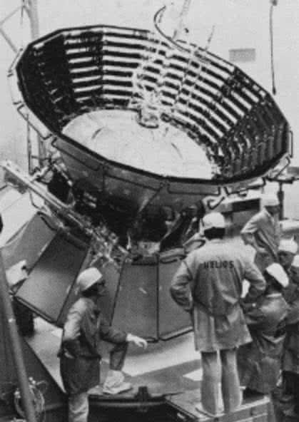Helios 2 spaceprobe from NASA