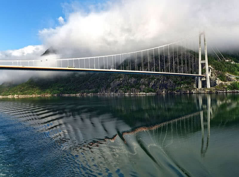 top 8 longest suspension bridges in the world the mysterious world. Black Bedroom Furniture Sets. Home Design Ideas