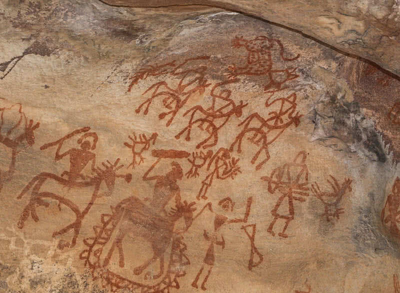 the worlds oldest painted prehistoric cave Some examples of the oldest recorded art in the world are prehistoric cave paintings, which were painted on cave walls thousands of years ago these cave paintings were used to communicate and record the stories of the artists.