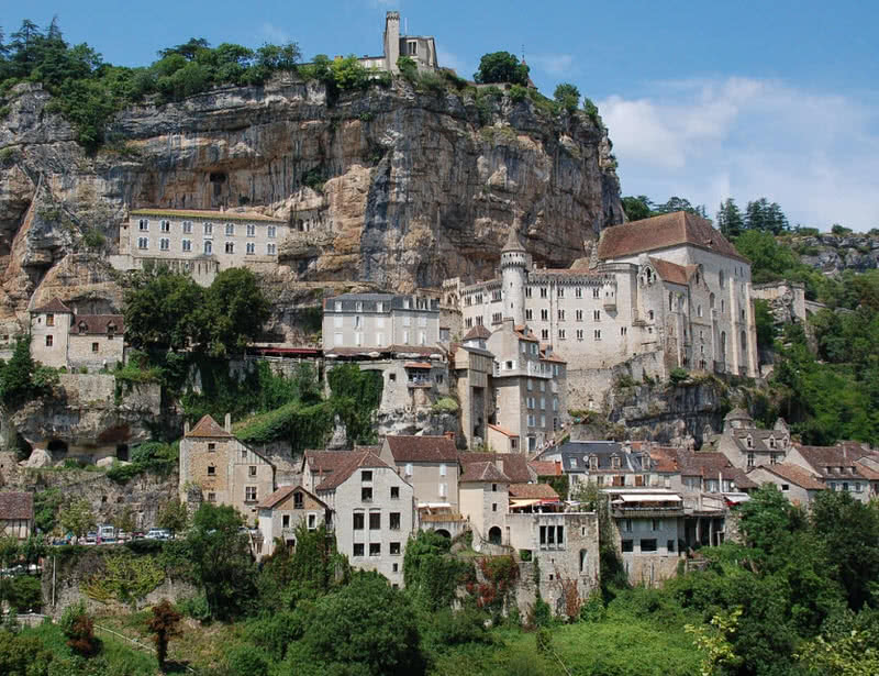 Spectacular Cliff-Side Towns