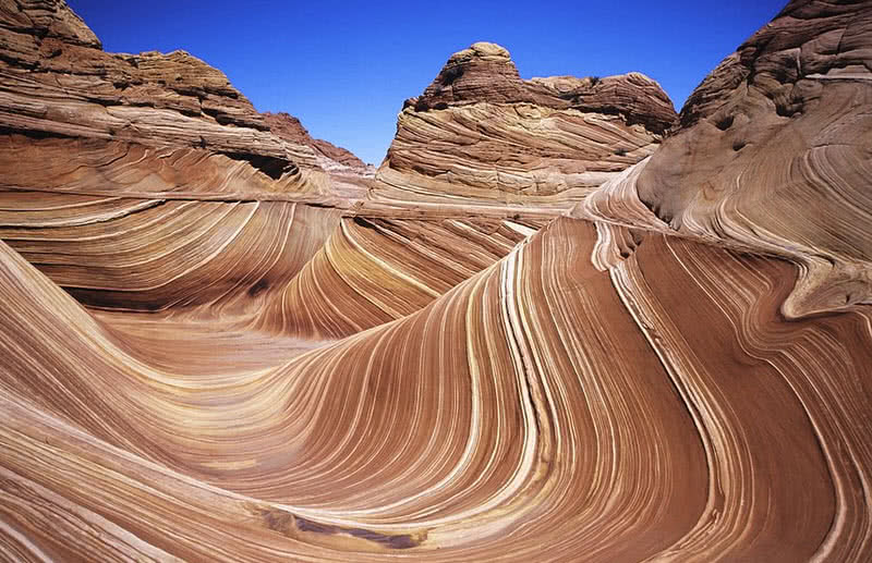 the wave rock formation